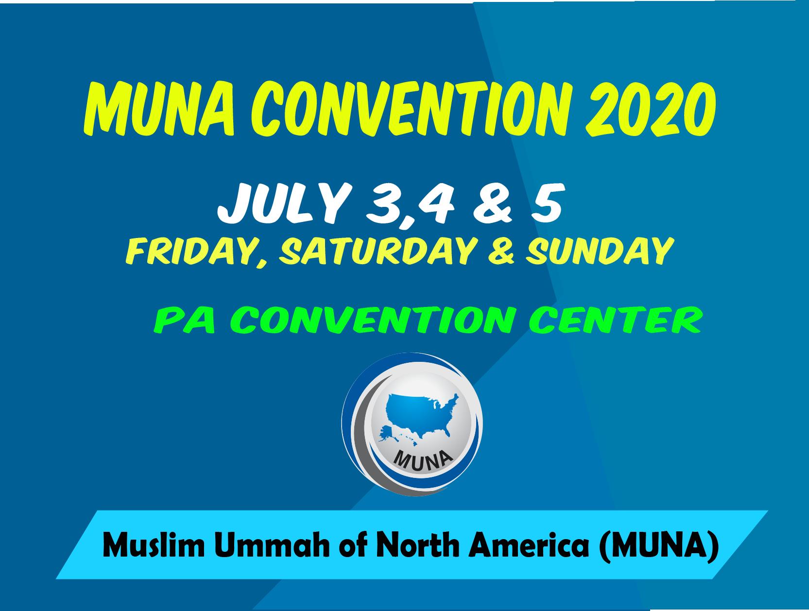 MUNA Convention 2020
