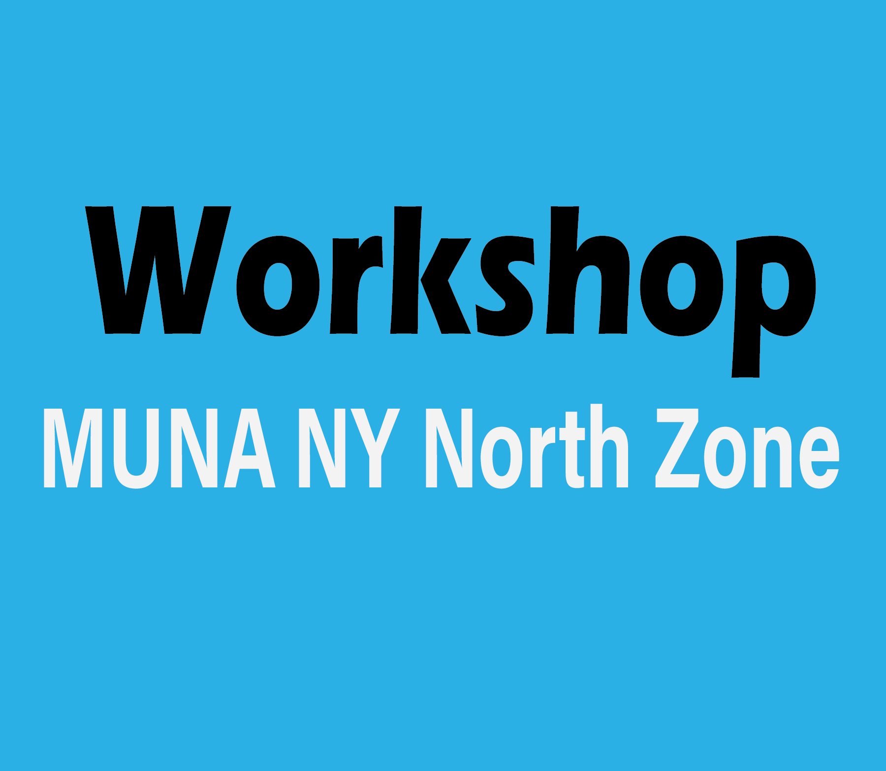 Advanced Associate Member Workshop – 2020