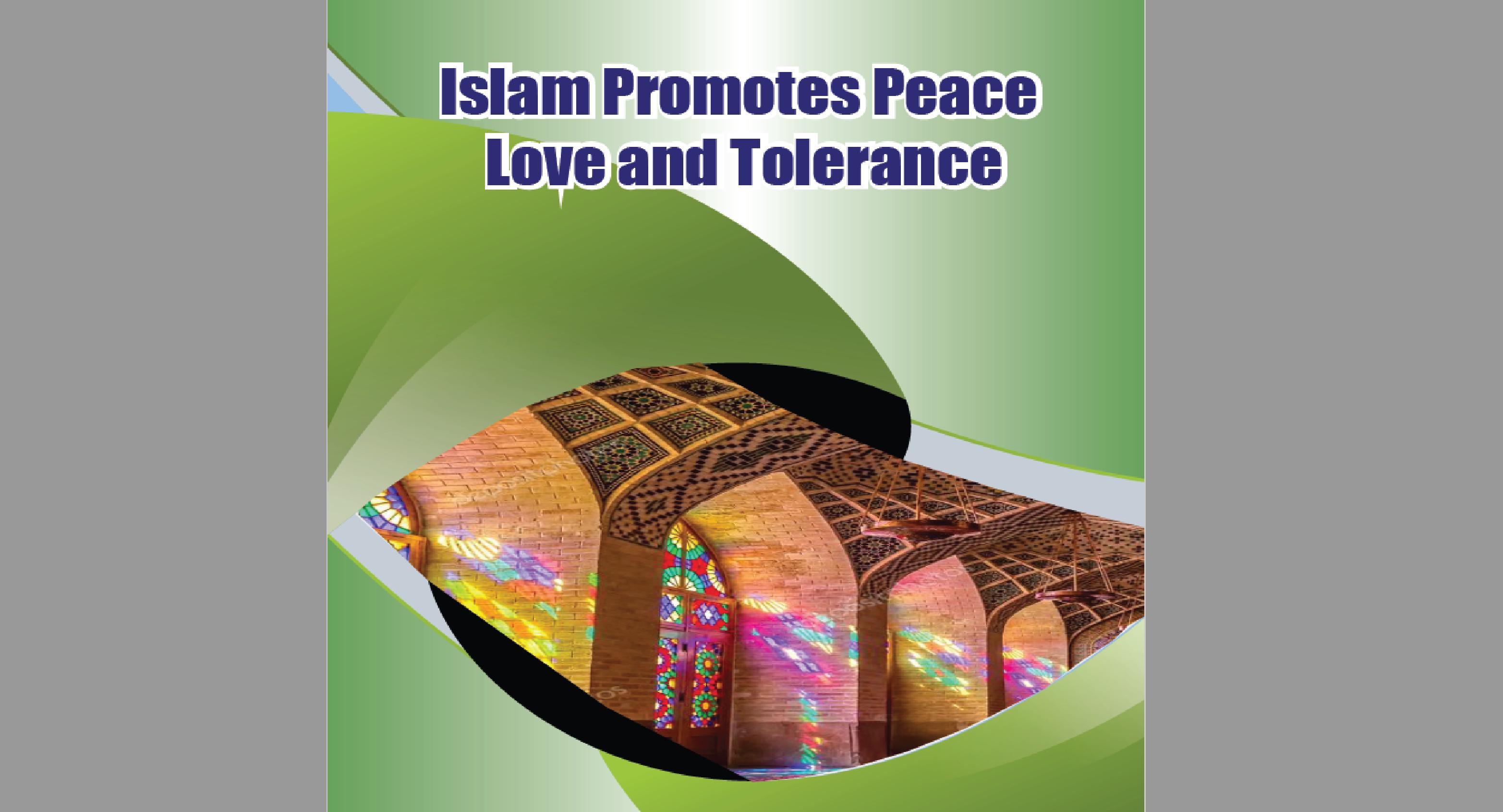 Islam Promotes Peace…
