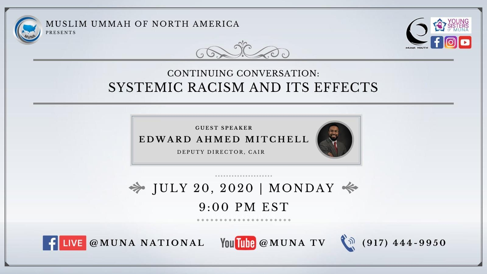 """Continue Conversation: Systemic Racism and its Effects"""